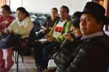 Socialización en Cotacachi para huertos familiares