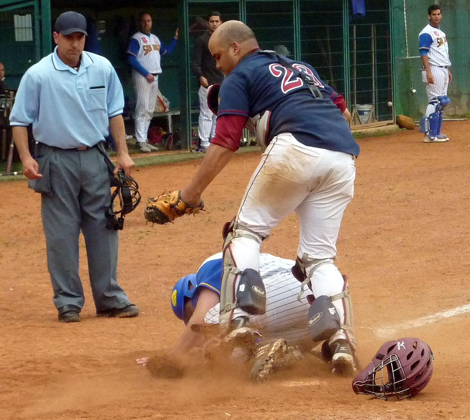 Joseba San Andres Beisbol Navarra-San Inazio (14.06.09)