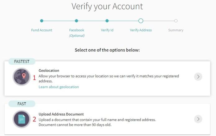Hướng dẫn xác minh địa chỉ tài khoản ví điện tử Skrill