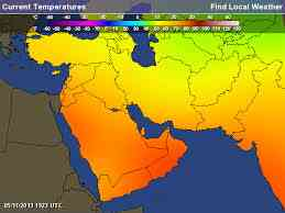 hot weather in uae affects indoor air