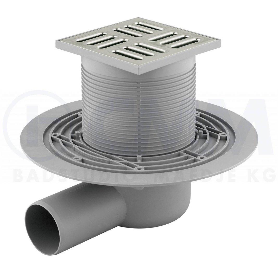 Bodenablauf Duschablauf Badablauf Ablauf, extraflach, für begehbare