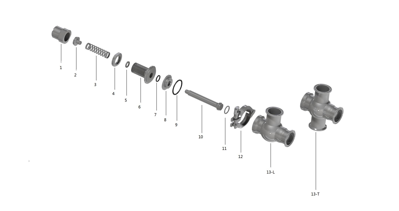 Manually Adjustable Pressure Relief Valve