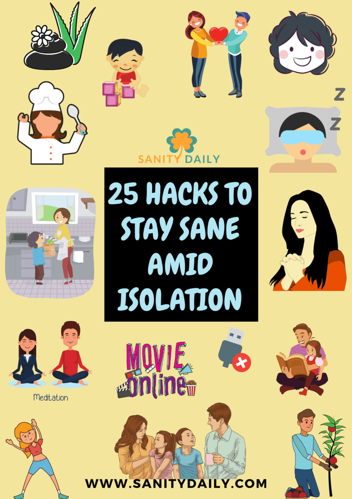 How to stay sane amid isolation