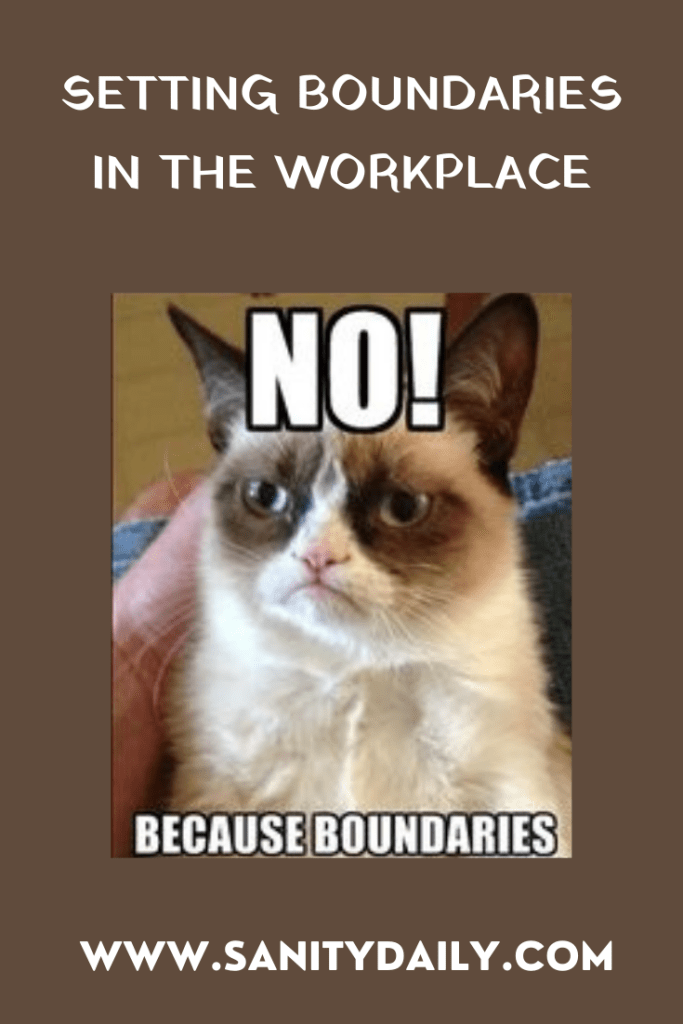 importance of setting boundaries in the workplace