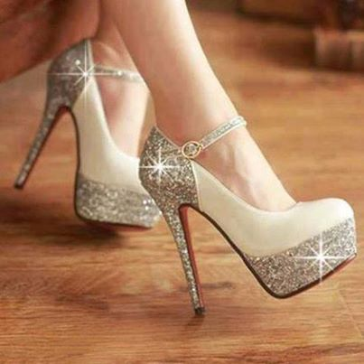 Wedding-glitter-high-heels