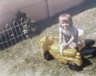 My very first bike age 3... man was I proud