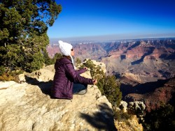 Grand Canyon Sitting