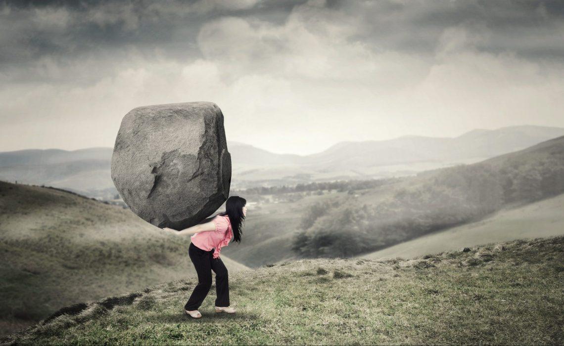 Kicking the Negative Stones of Life