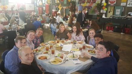 fine arts banquet {freshmen}