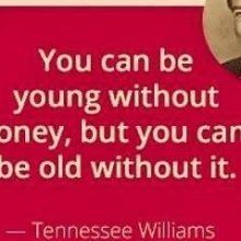 image describing whether being young and poor or old and poor