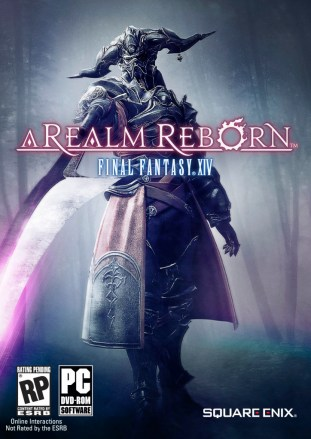 English box art of Final Fantasy XIV A Realm Reborn