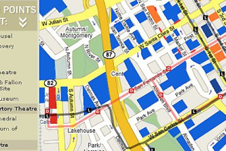 downtown san jose downtown line » Full HD MAPS Locations - Another ...