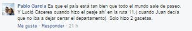 respuesta García