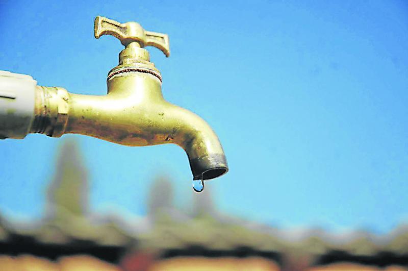Corte de suministro de agua en Ciudad del Plata