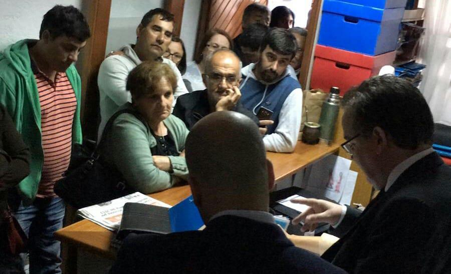 Justicia realizará inspección de Arazatí en marzo