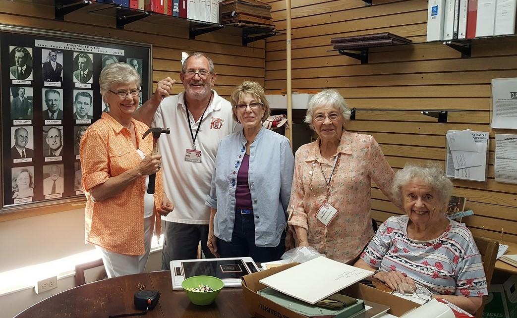 San Juan High School / Alumni Association Legacy Exhibit Staff
