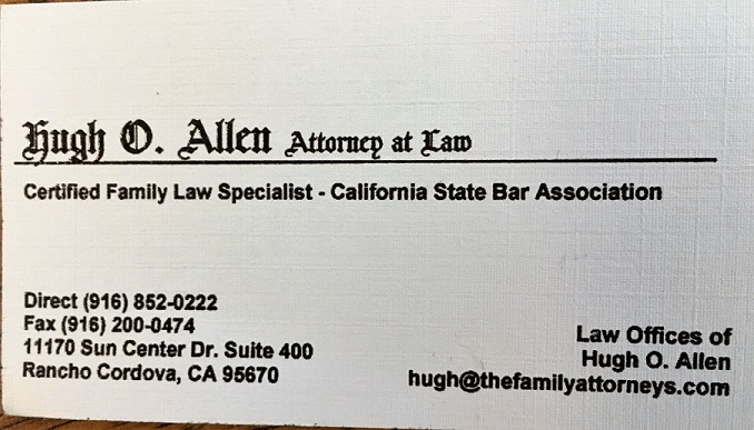 Hugh O. Allen Attorney at Law