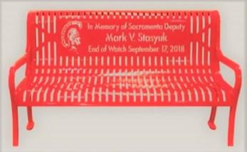 Mark Stasyuk Memorial Bench