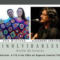 Noche de boleros con el Dúo Mixtura y Alejandro Sánchez