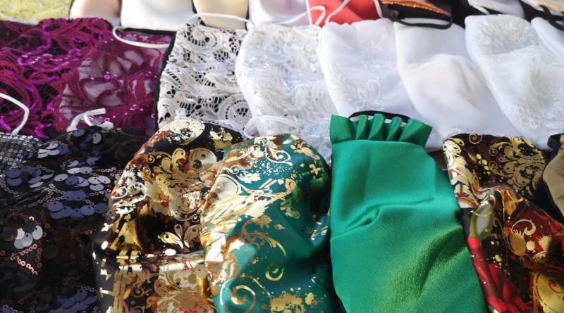 Entregarán tapabocas gratuitos con telas y diseños de alta costura