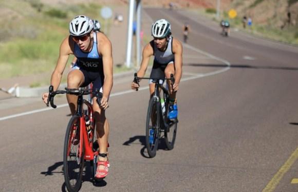 Sanjuaninos se destacaron en una carrera de triatlón en Mendoza