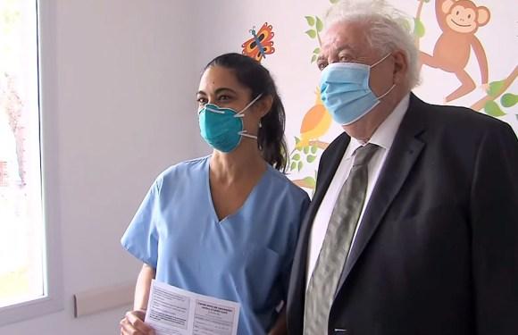 Ginés González García: «La campaña de vacunación se viene desarrollando en tiempo y forma»