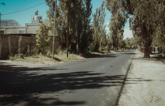 Vialidad Provincial ejecuta trabajos de repavimentación en Zonda