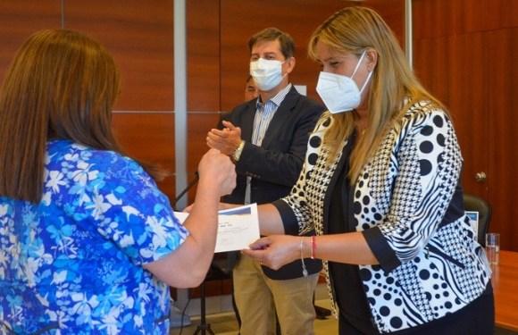 Entregaron certificados para los egresados del curso de Promotores Comunitarios de Salud