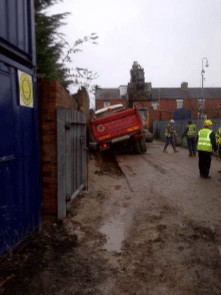 An Incident During the Building of the Nutgrove Community Centre