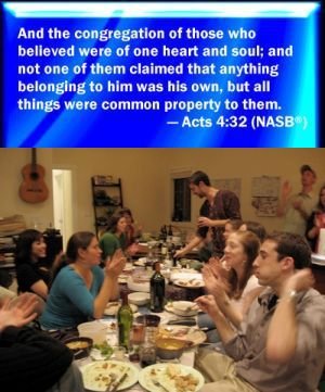 Acts 4 Sharing