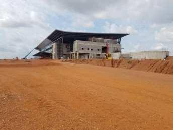 Construction of Kumasi International Airport