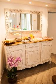 colazione bed and breakfast bergamo alta san lorenzo b&b Città Alta