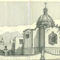 CUART- UASLP exhibe dibujos a lápiz de catedrático