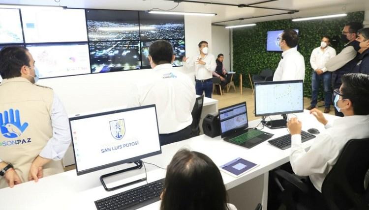 Gobierno Municipal estrena nuevi centro de monitoreo de luminarias tipo led