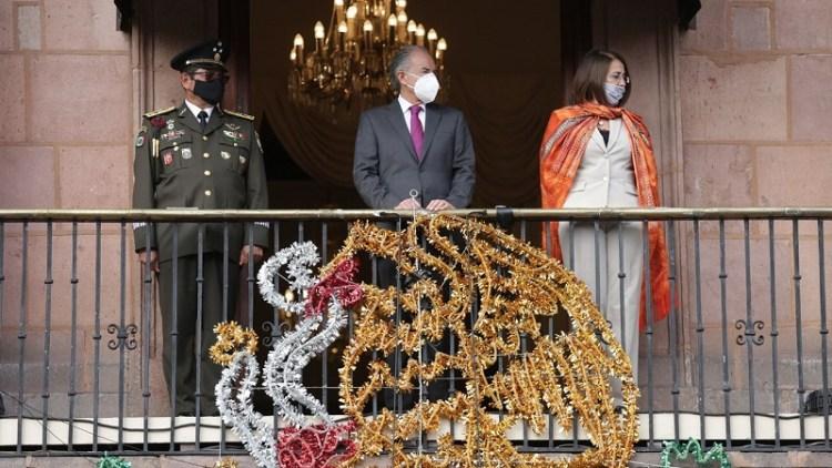 JM Carreras refrendó su respeto y gratitud al personal de salud, durante evento de la Independencia