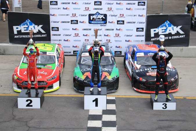 Juan Manuel González triunfa en Nascar FedEx Challenge