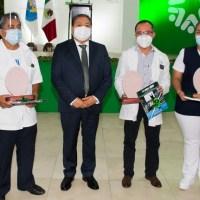 Ayuntamiento de Soledad, reconoció a personal médico que atiende Covid-19