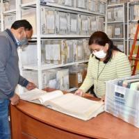 Archivo Municipal de Soledad, ofrece servicio con medidas de sanidad