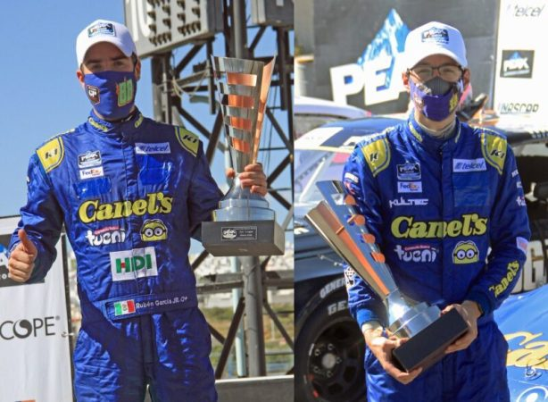 3° para García Jr. y De Alba Jr en fecha 7 NASCAR Peak y Challenge Querétaro