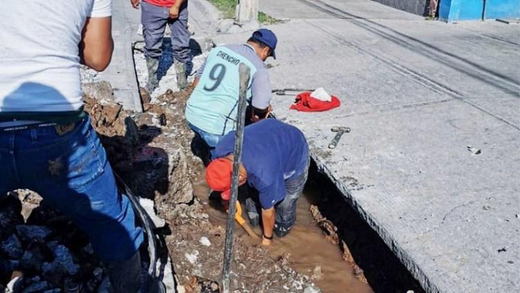 Rebasan los 36 millones de pesos, obras municipales de agua potable y drenaje