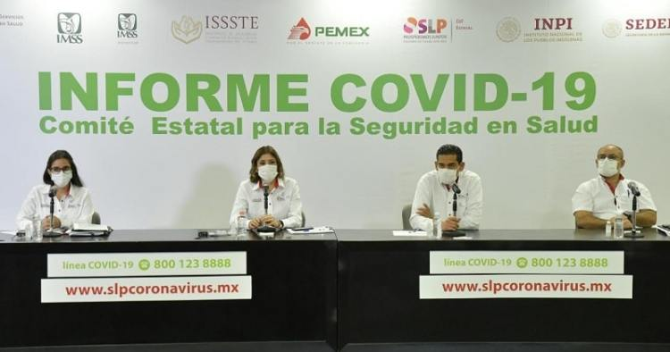 No paran contagios de Covid-19 y SLP supera los 26 mil casos confirmados