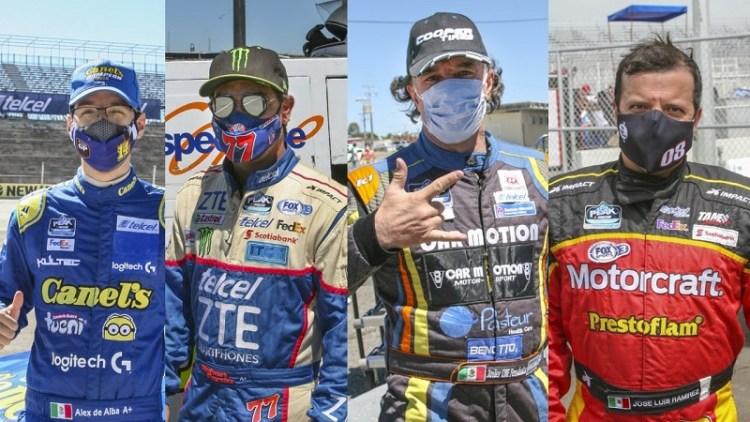 A cuidarse de contactos, pilotos Nascar Peak México Series