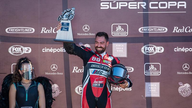 Ernesto Fernández necesita de muy poco, para ser campeón de Mexbike Expertos.