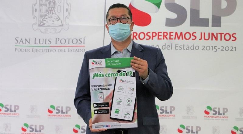 """La app """"SLP Finanzas"""" brinda servicio a las y los ciudadanos: Daniel Pedroza"""