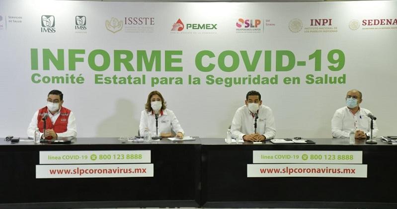 SLP por llegar a los 32 mil casos de Covid-19