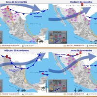 Nuevo frente frío generará viento y descenso de temperatura, durante la semana en SLP