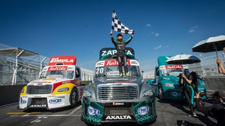 Richards campeón de los Freightliner, dice que podría haber ganado todas las carreras.