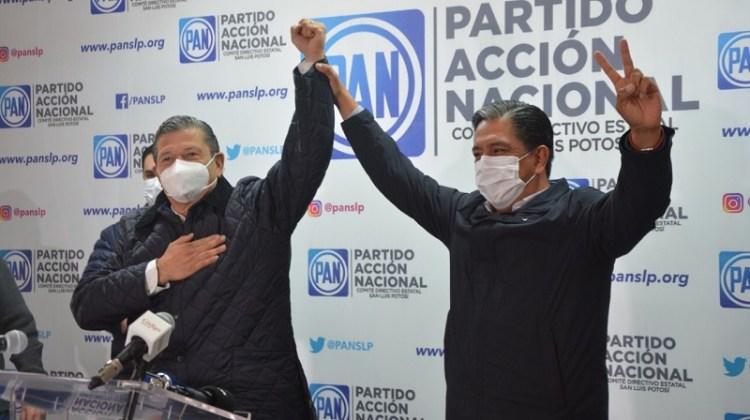 Reconoce Marco Gama triunfo de Octavio y se suma a su proyecto por la gubernatura