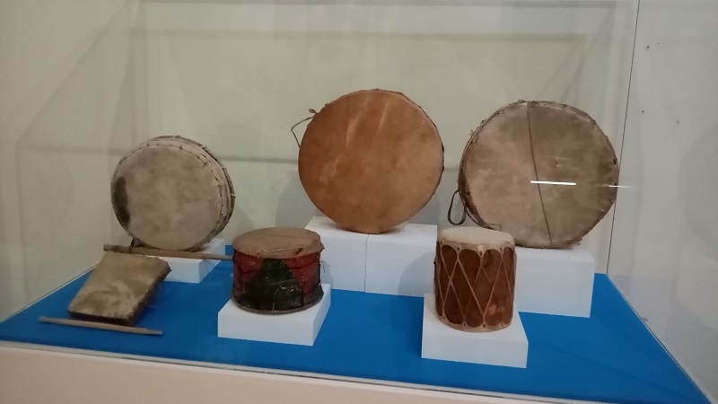 Instrumentos Musicales Tradicionales en el Museo Nacional de la Máscara