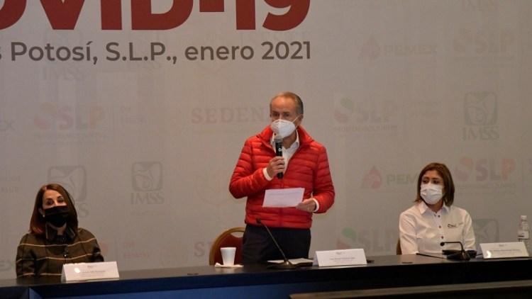 SLP está preparado para iniciar vacunación contra COVID-19: JM Carreras